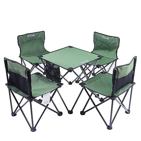 Mesa De Picnic Plegable Plegable Mesa De Camping Portátil ...