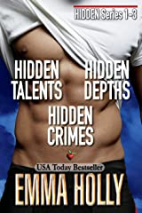 Hidden Series 1-3 (Hidden Talents, Hidden Depths, Hidden Crimes) Paperback