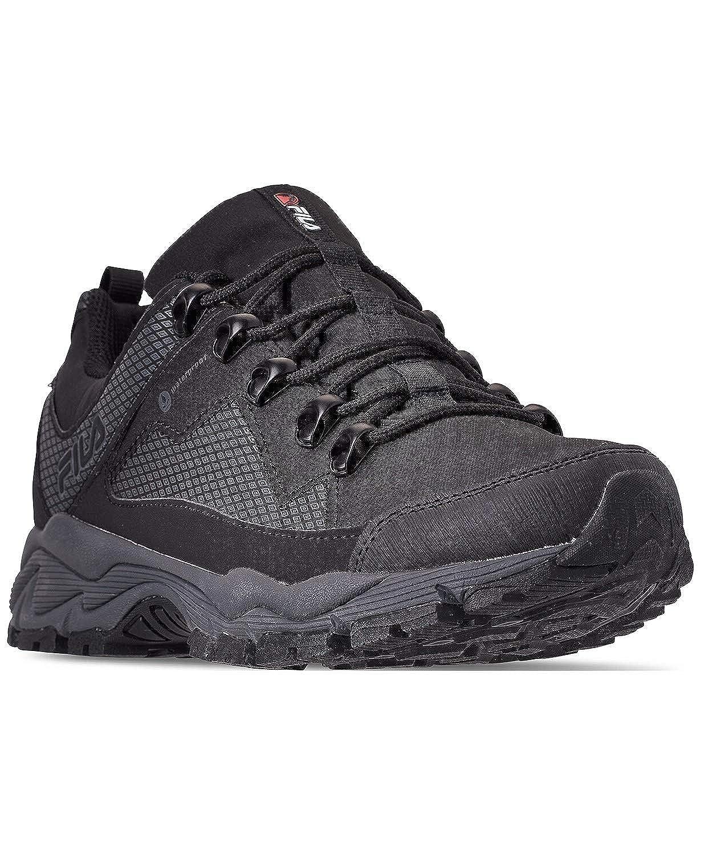 8b8198f83527c Amazon.com   Fila Men's Switchback 2 Water Proof Hiking Shoe Black/Grey    Hiking Shoes