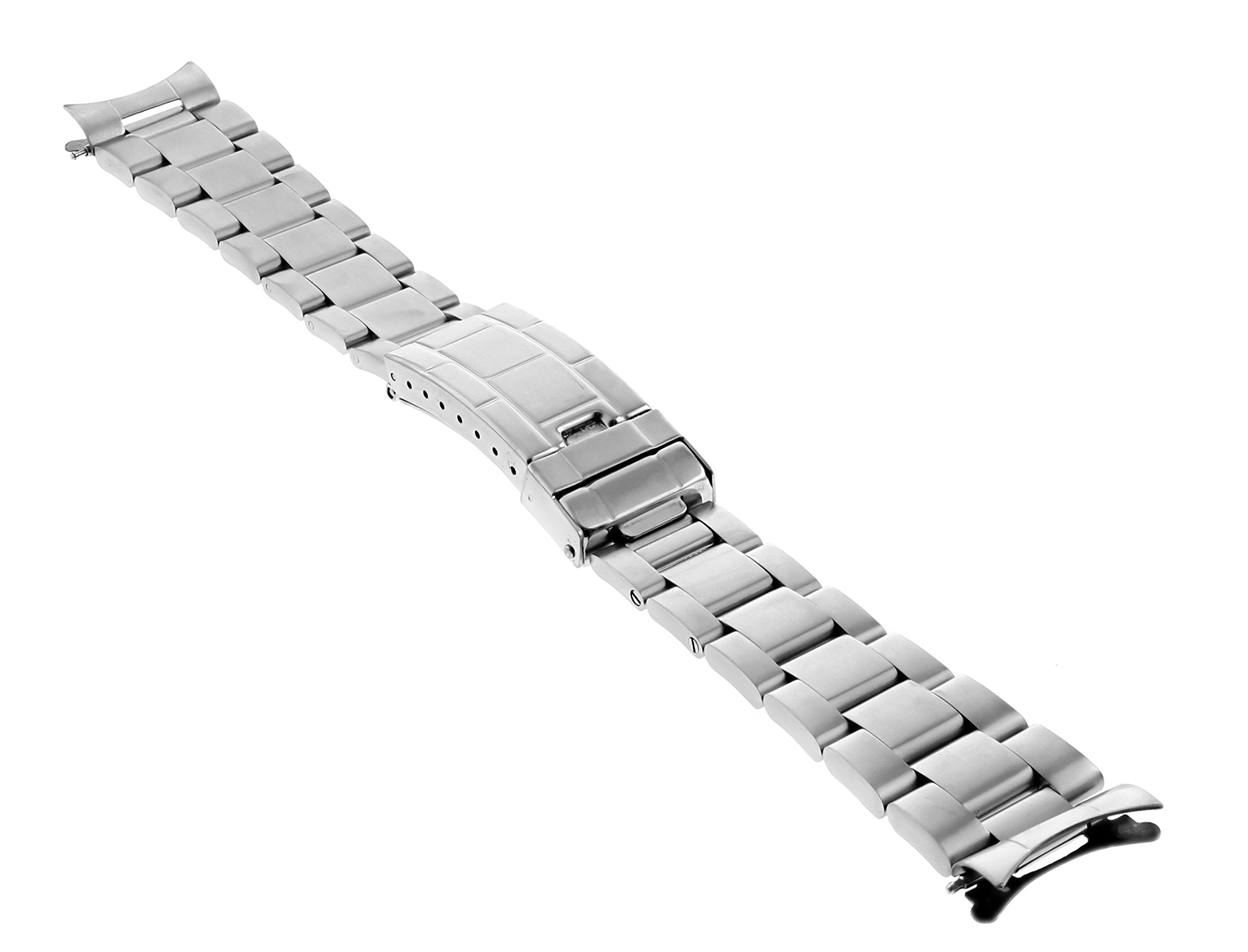 20MM Oyster Band for 40MM Rolex Explorer II 2 16570 FIT Fat Spring BAR FLIP Lock by Ewatchparts (Image #7)