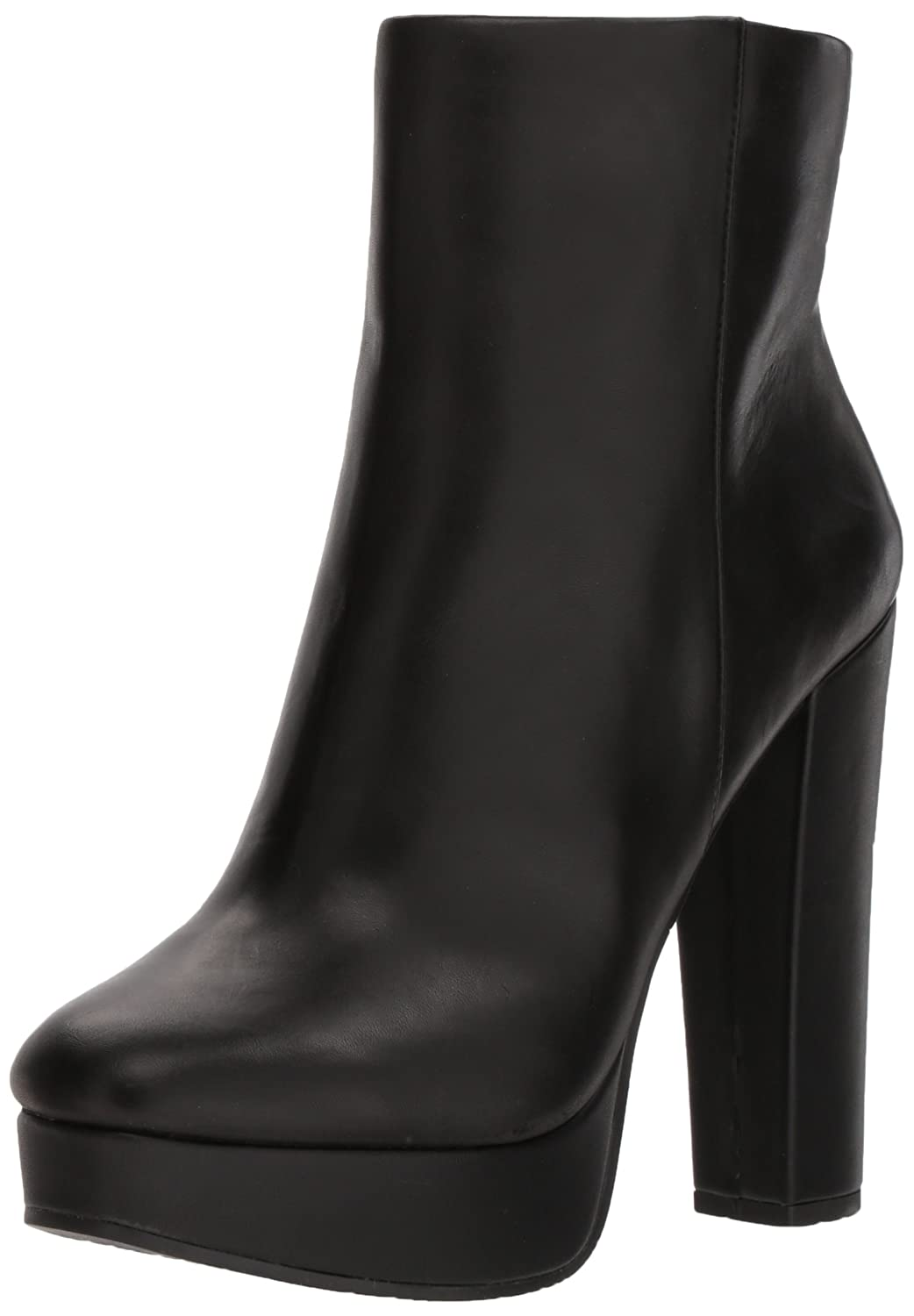 Jessica Simpson Women's Sebille Fashion Boot B075N7BHCK 6 B(M) US|Black Leather