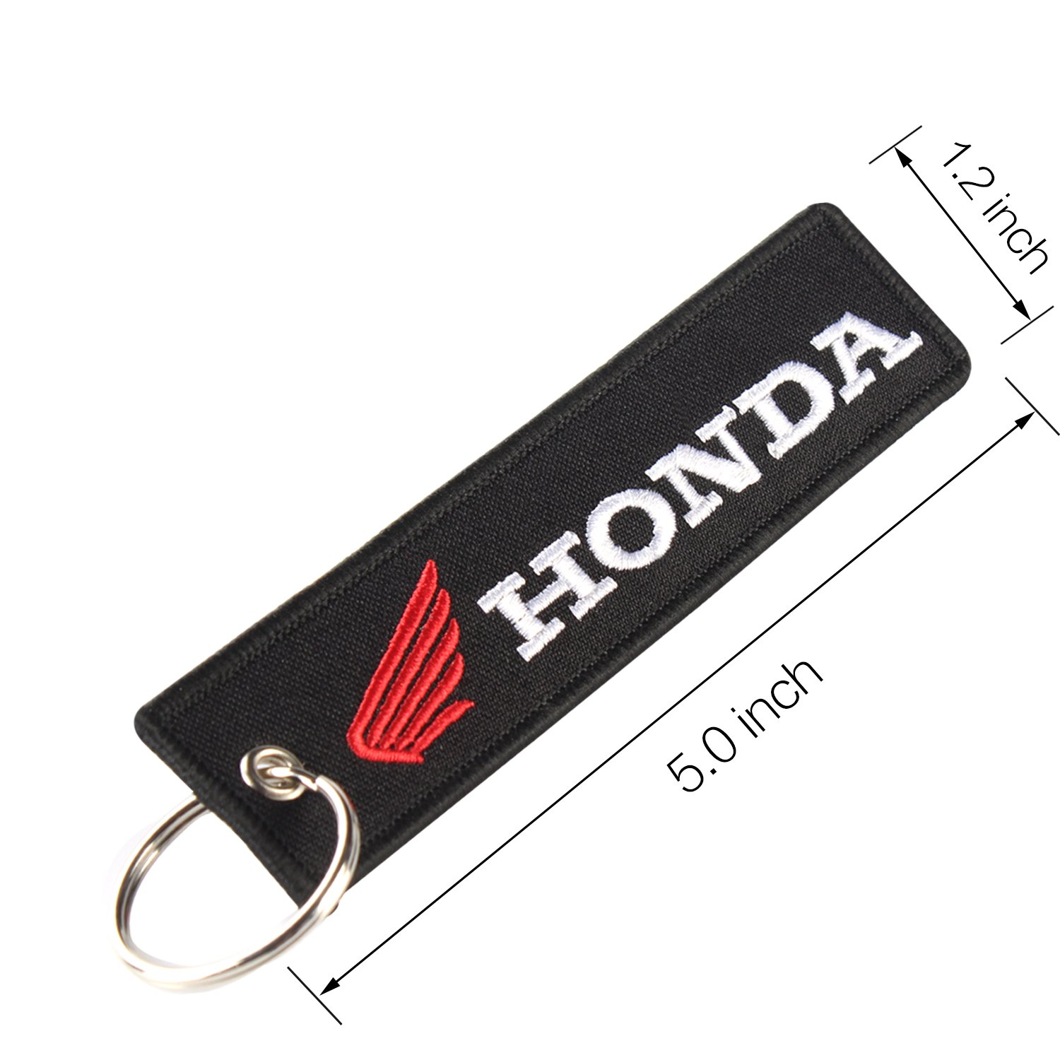 Amazon.com: golden tai keychain Double Sided embroidery Moto ...