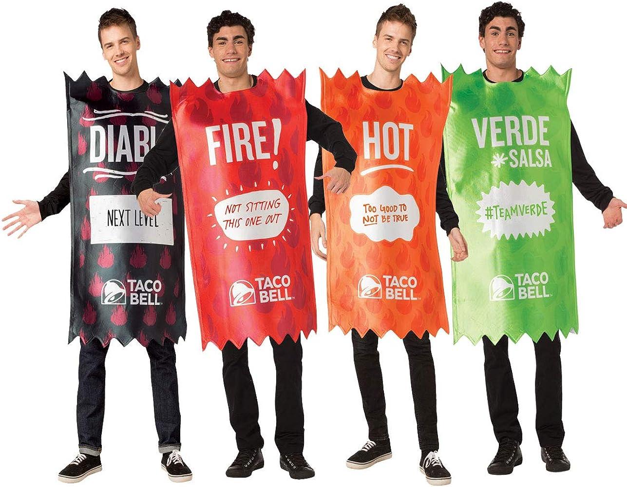 Juego de Disfraz de Salsa Picante Taco Bell: Amazon.es: Ropa y ...