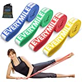 EveryMile Resistance Band Set, Fabric Pull Up Assist Band Set for Pullup Assist, Mobility Powerlifting Band for Resistance Tr