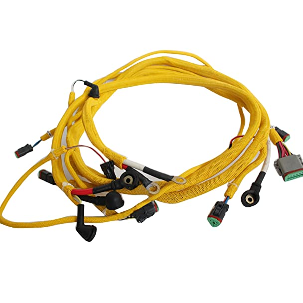713S6kyJs3L._SX608_ amazon com sinocmp 6743 81 8310 engine wiring harness fits Largest Komatsu Excavator at couponss.co
