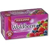 Teekanne Waldbeere 20 Beutel, 4er Pack (4 x 50 g Packung)