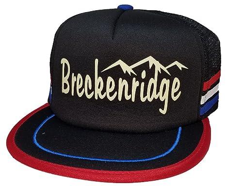 Amazon.com  ThatsRad Breckenridge Colorado Snowboard Ski 3 Stripe ... 7df4c65c22c