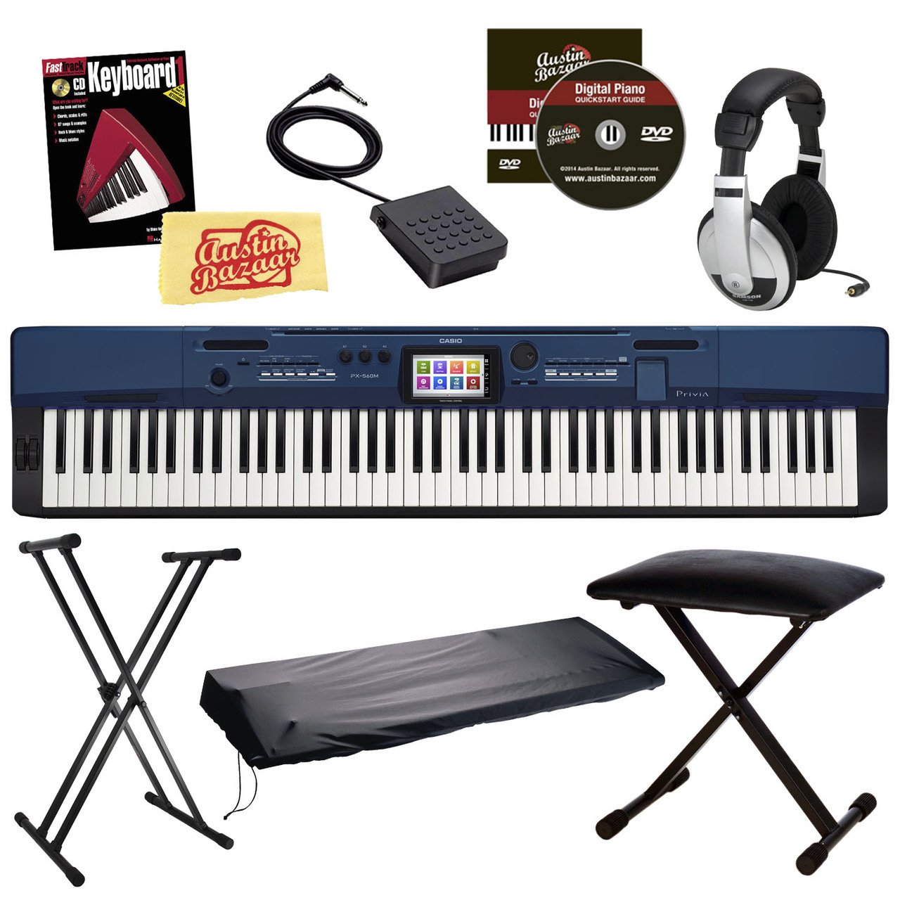 Casio PX 560 Bundle