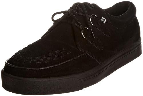TUK - Zapatillas de deporte de cuero unisex, Negro, 37: Amazon.es: Zapatos y complementos