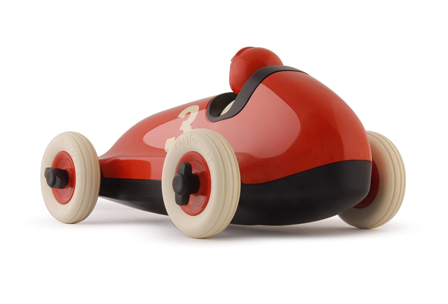 amazoncom playforever bruno racing car  orangered toys  games -