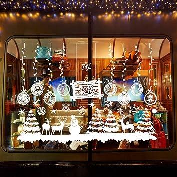 christmas window stickers calans christmas window clings christmas sticker decorations 2215 - Christmas Window Stickers