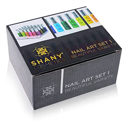 Amazon shany nail art set 24 famous colors nail art polish amazon shany nail art set 24 famous colors nail art polish nail art decoration beauty prinsesfo Image collections