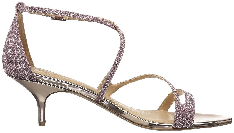 ae9133a5e0 Amazon.com | Badgley Mischka Women's Gal Heeled Sandal | Flip-Flops