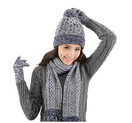 Lantra Besa Women Pom Pom Beanie Hat ab9c9c89210