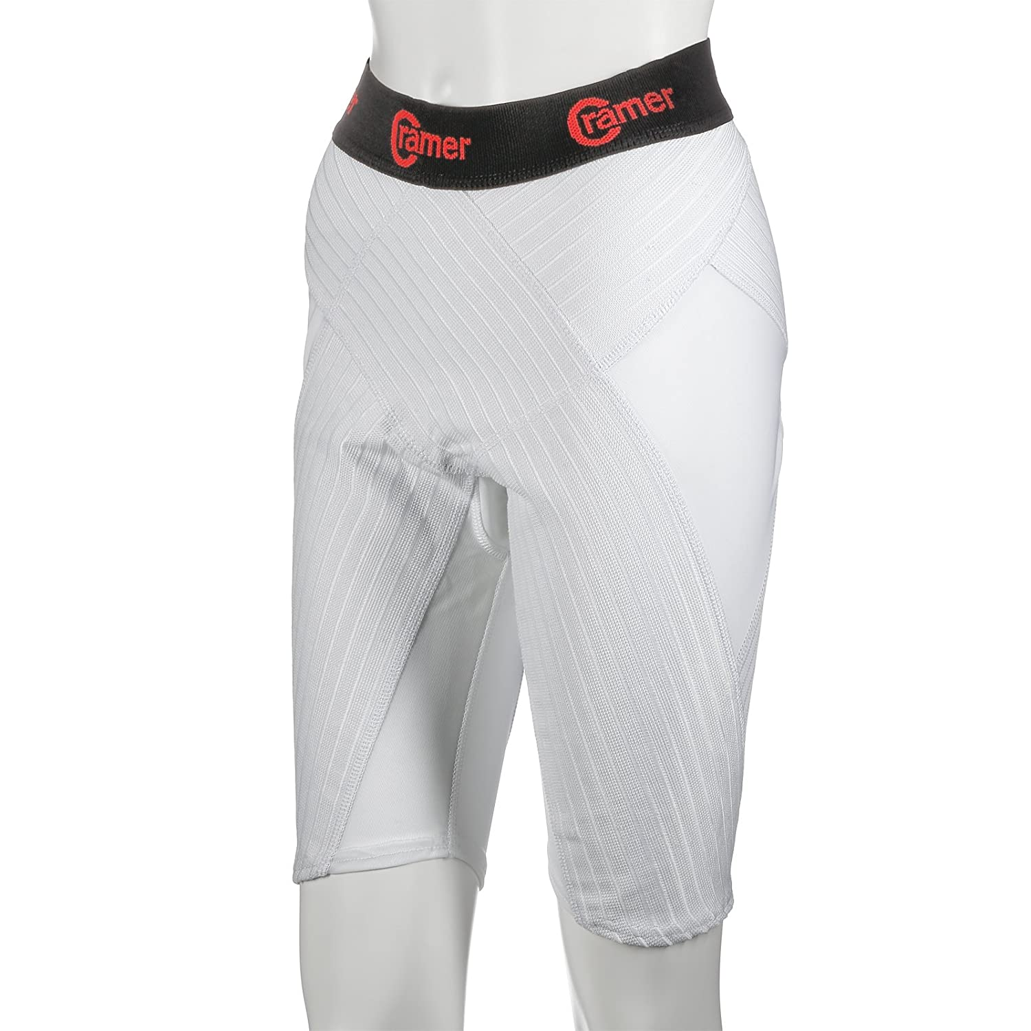 Enhances Athletic Performance Knee-Length Compression Shorts Improves Blood Circulation Cramer Performance Shorts for Core Muscle Compression and Support During Activity /& Recovery