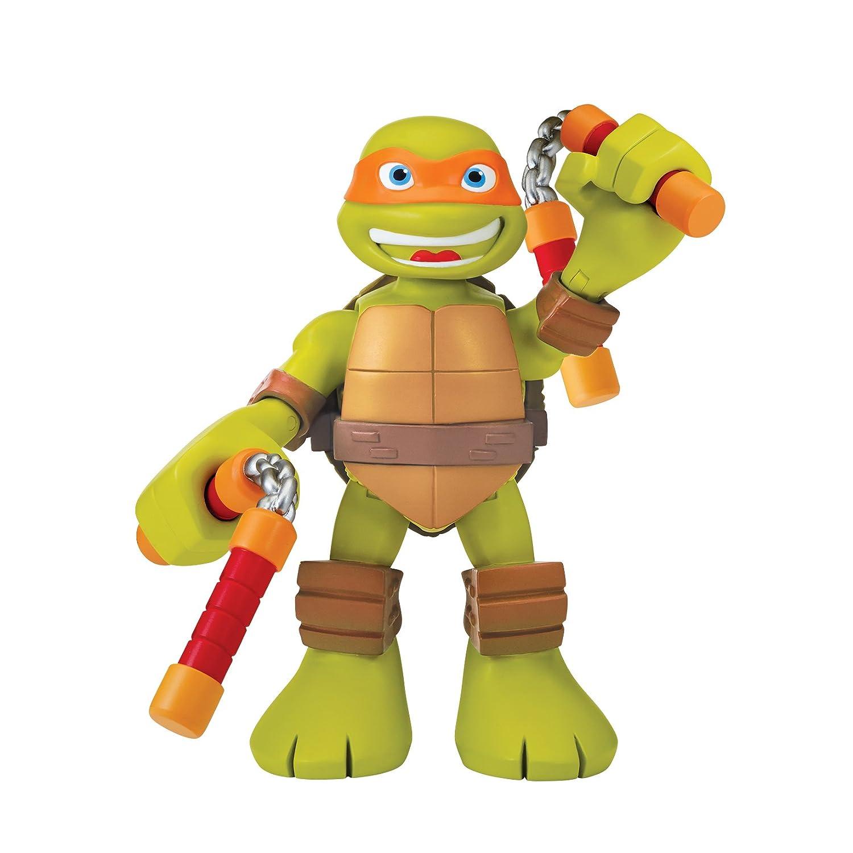 Teenage Mutant Ninja Turtles PreCool Half Shell Heroes 6 Inch Michelangelo Talking Turtles Figure