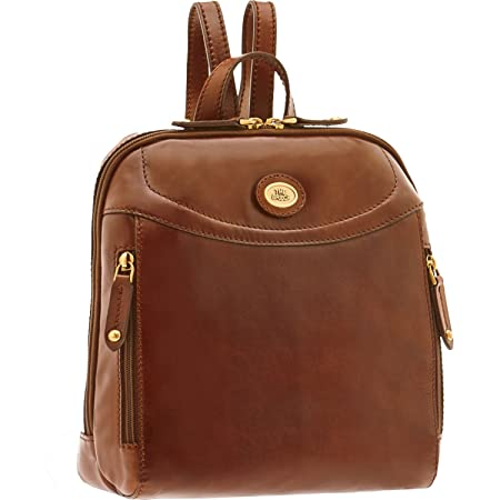 4b9005a2efe ... new style 10954 a310c The BRIDGE Leather Backpack Luxury genuine Italian  bag LADIES City Back pack ...