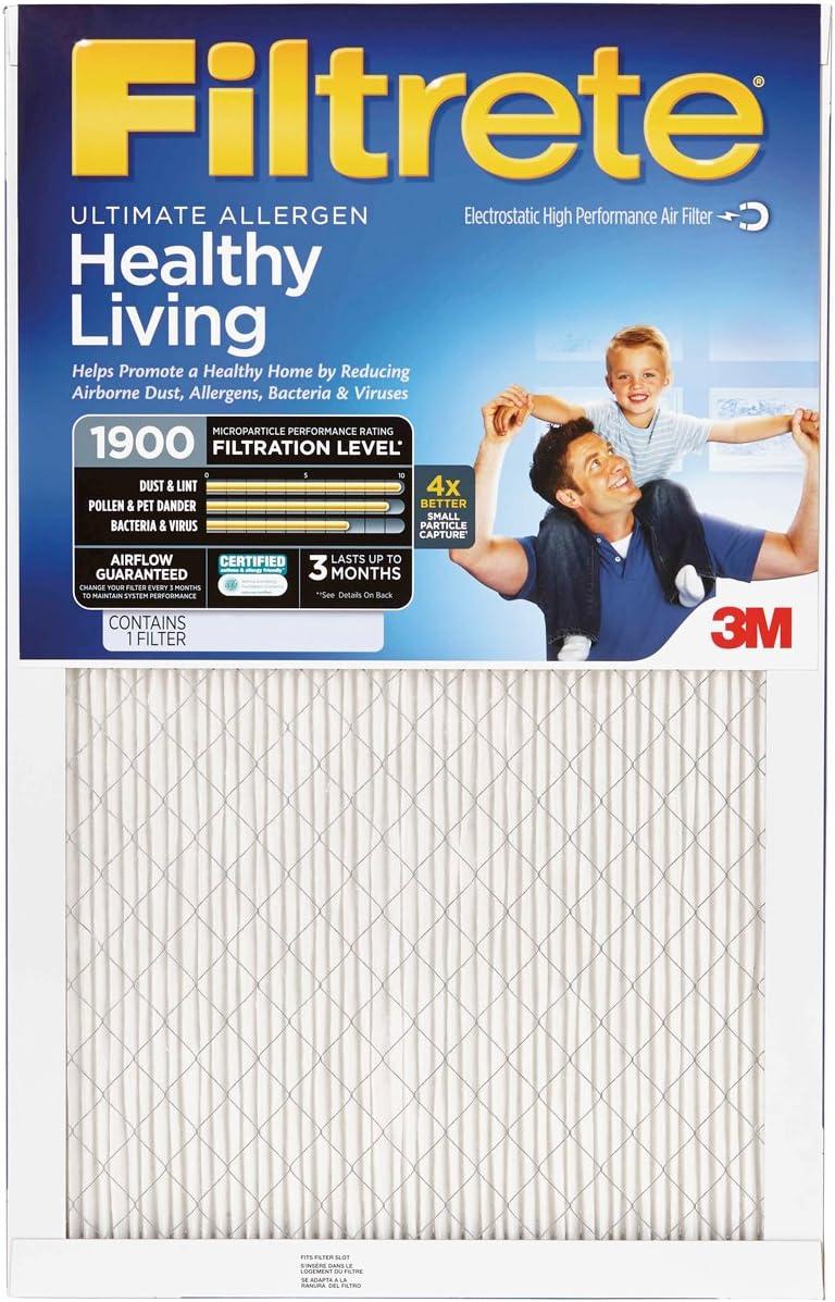 16x25x1 MERV 11 by 3m Ultimate Allergen Furnace Filter Air Filter
