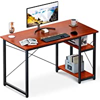 ODK Computer Desk with Shelves 39-in Home Office Desk w/Storage