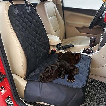perg Transferencia perro Auto asiento delantero protectora resistente al agua Pet Cubo Único Matte para perro Pet Seat Protector (Negro): Amazon.es: Coche y ...