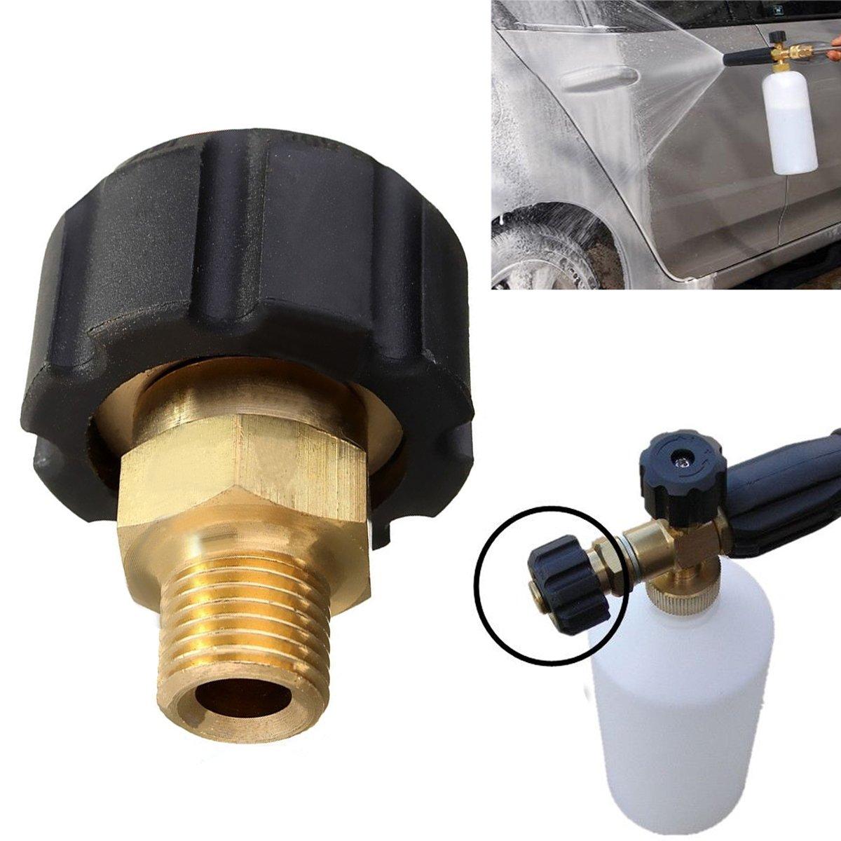 Hochdruckreiniger Kupplungs Adapter für Karcher HDS & HD M22F Schneeschaum Lanze PDTO