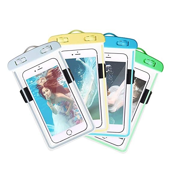 Phone Pouch Luminous Waterproof Bag Underwater Pouch Phone Case For Iphone Samsung Galaxy Huawei Xiaomi Redmi Cell Phone Universal All Model Cellphones & Telecommunications