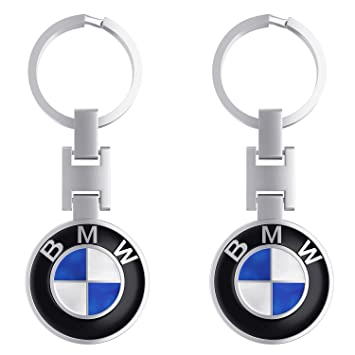amazon com 2 pack key chain for bmw special edition key ring of