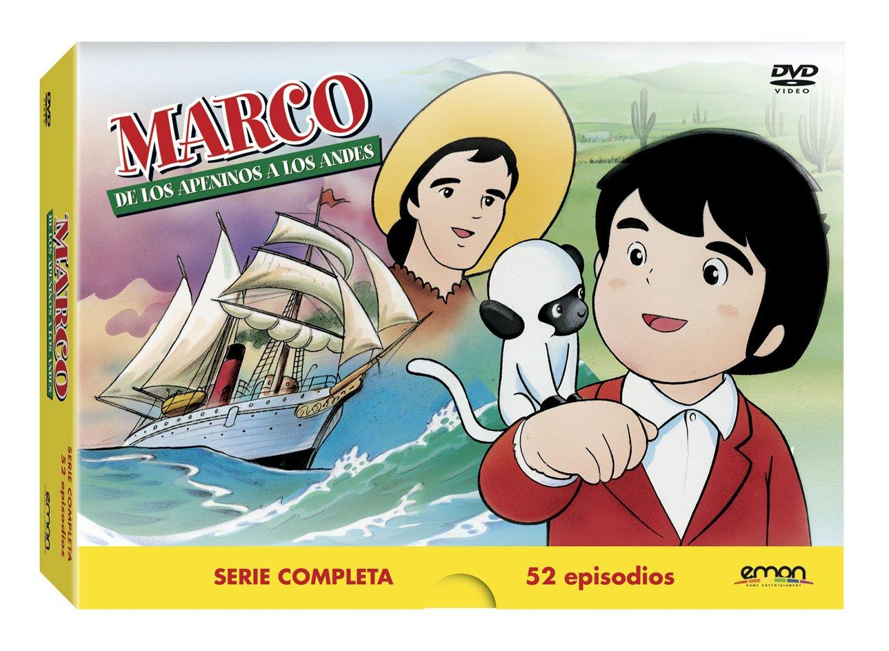 Marco - Serie Completa [DVD]: Amazon.es: Isao Takahata: Cine y Series TV