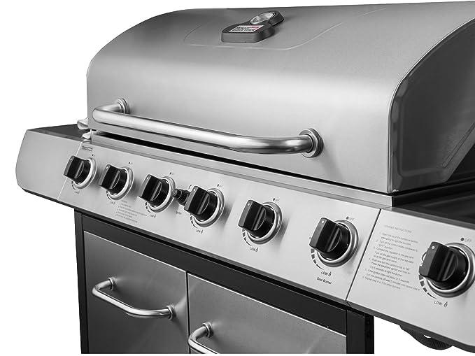 Schrank Für Gasgrill : Royal gourmet classic edelstahl burner schrank gas grill mit