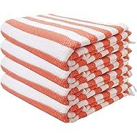 Juego de toallas de baño Peshtemal de algodón turco para playa y Hammam, diseño a rayas