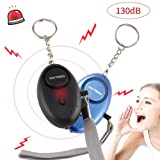 Amazon Price History for:Kictero 130 DB Emergency Personal Alarm Keychain, Wolf Alarm, Safety Defense, Alarm Keychain with LED Flashlight, Self Defense Electronic Device for Kids Women Elderly Adventurer Night Workers