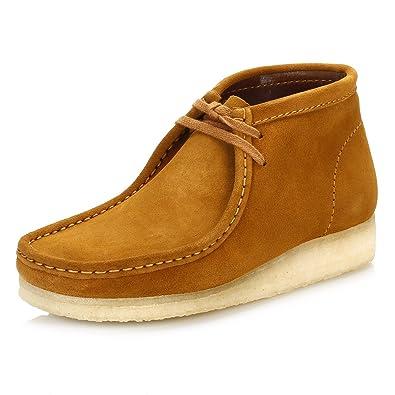 Clarks Herren Bronze Wallabee Wildleder Stiefel  Amazon.de  Schuhe ... 07fcb69740