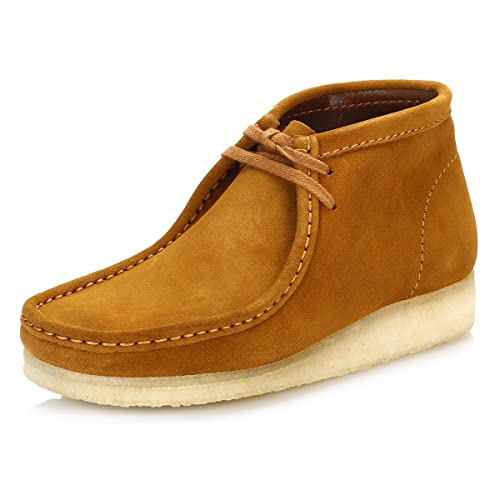 Clarks Uomo Bronze Wallabee Scamosciato Stivali: Amazon.it