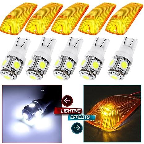 Amazon.com: CCIYU 5x Lámpara indicadora para techo de ...
