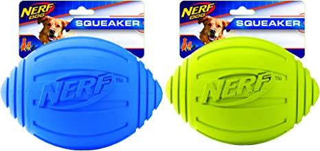 Nerf Dog Ridged Squeaker Football