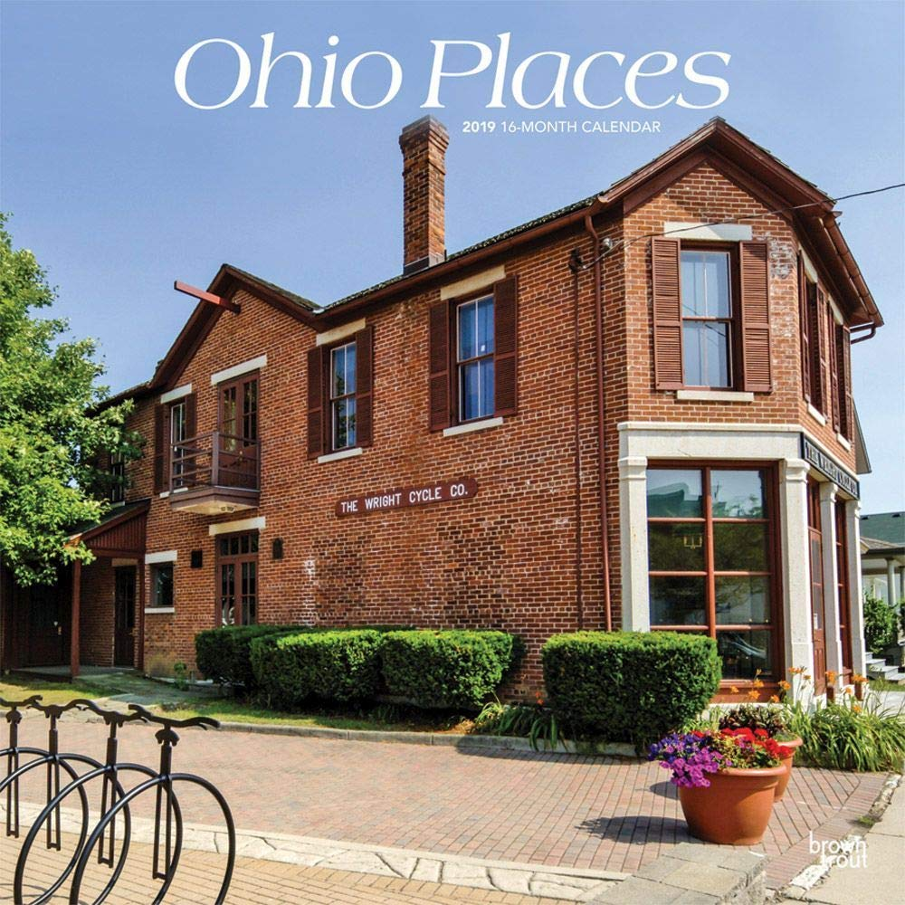 Ohio Places Wall Calendar, More U.S. States by BrownTrout