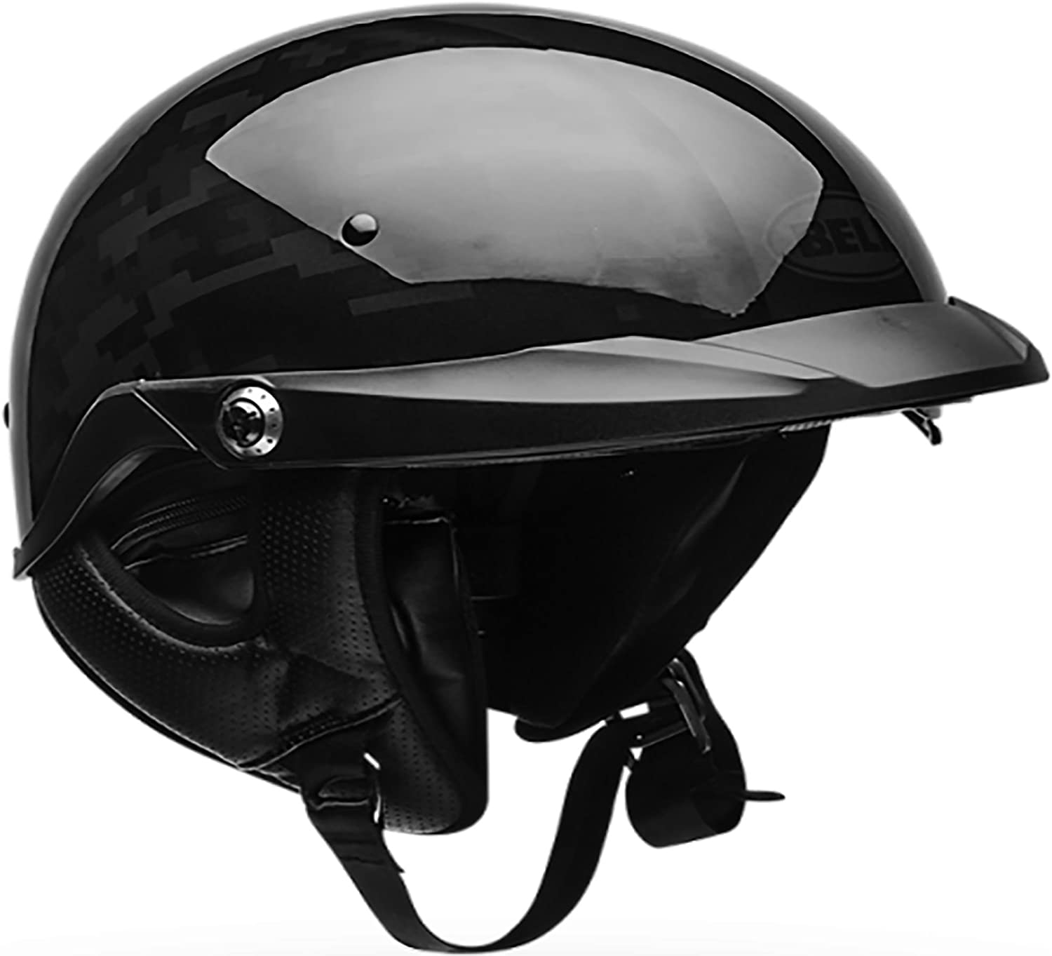 Bell Pit Boss Open-Face Motorcycle Helmet Black Ops Camo, X-Small//Small
