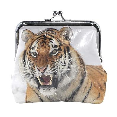 Amazon.com: Rh Studio - Monedero con diseño de tigre para ...