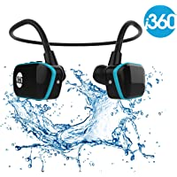 Swimming MP3 Player Underwater Waterproof to 3 Meters - Wireless 4GB MP3 Player - Listen to your Music Whilst Swimming/Running/Training/Gym Fuss Free without a Cord! Waterproof Sport MP3 Music Player