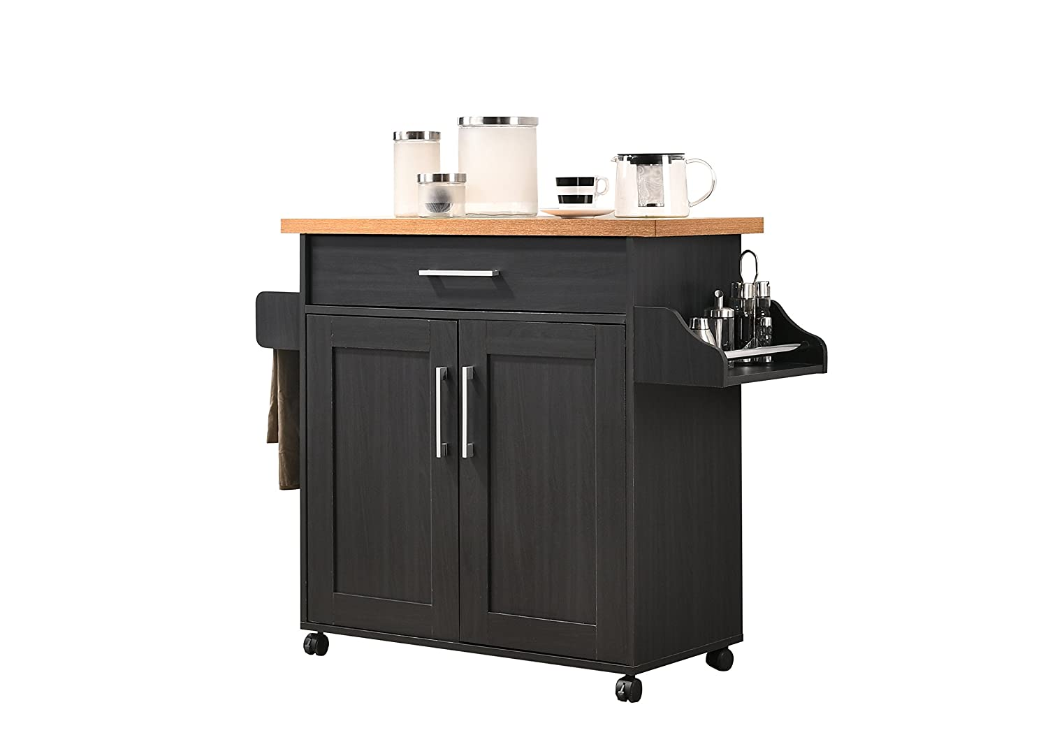 Hodedah Kitchen Cart