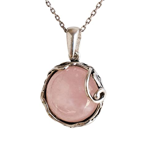 natural rose quartz pendant,925 silver pendant,rose quartz pendant,natural quartz pendant,quartz gemstone pendant