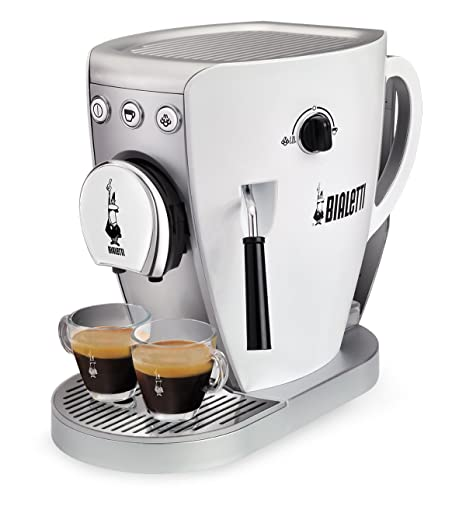 Bialetti CF37 - Cafetera (Independiente, Color blanco, Espresso machine, De café molido