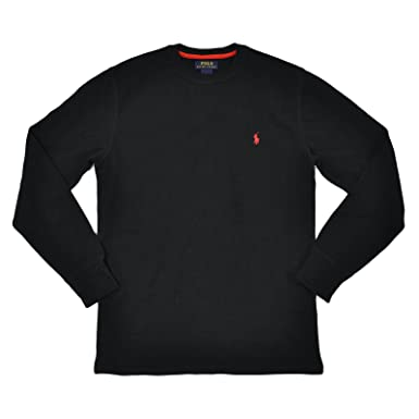 Polo Ralph Lauren Men\u0027s Long-sleeved T-shirt / Sleepwear / Thermal in Black