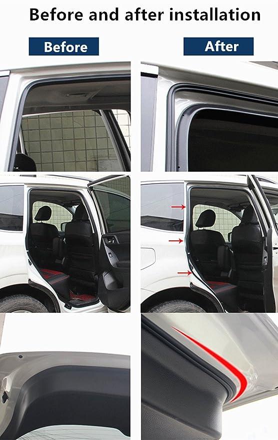 EPDM Verschluss Gummidichtung Auto Umrandung Dichtung Schutz Streifen