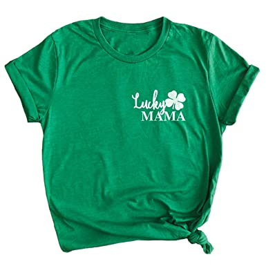 efaac1d63 Spunky Pineapple Lucky Mama Funny St. Patrick's Day Premium T-Shirt Green