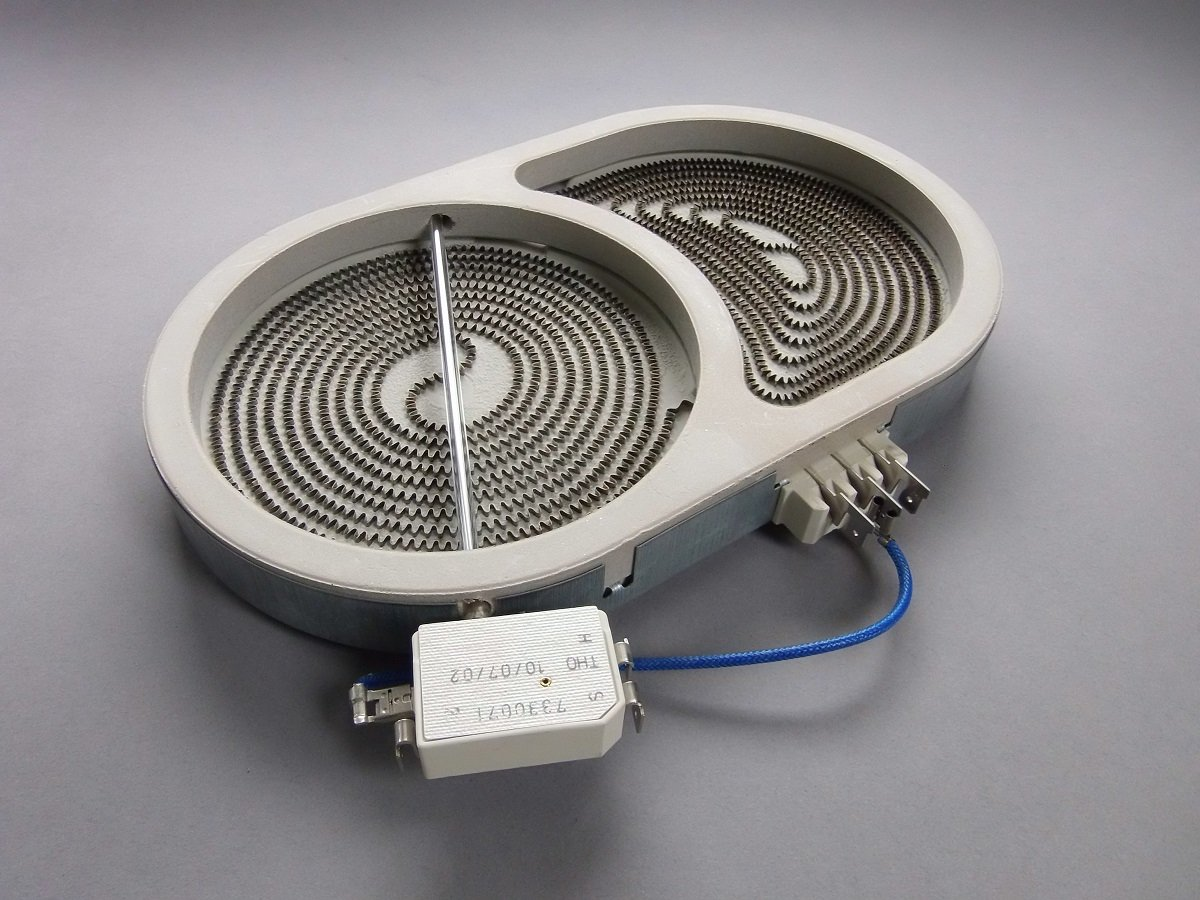 Calefactor de Hornilla Placa Cocina Vitrocerámica Dual 140 ...