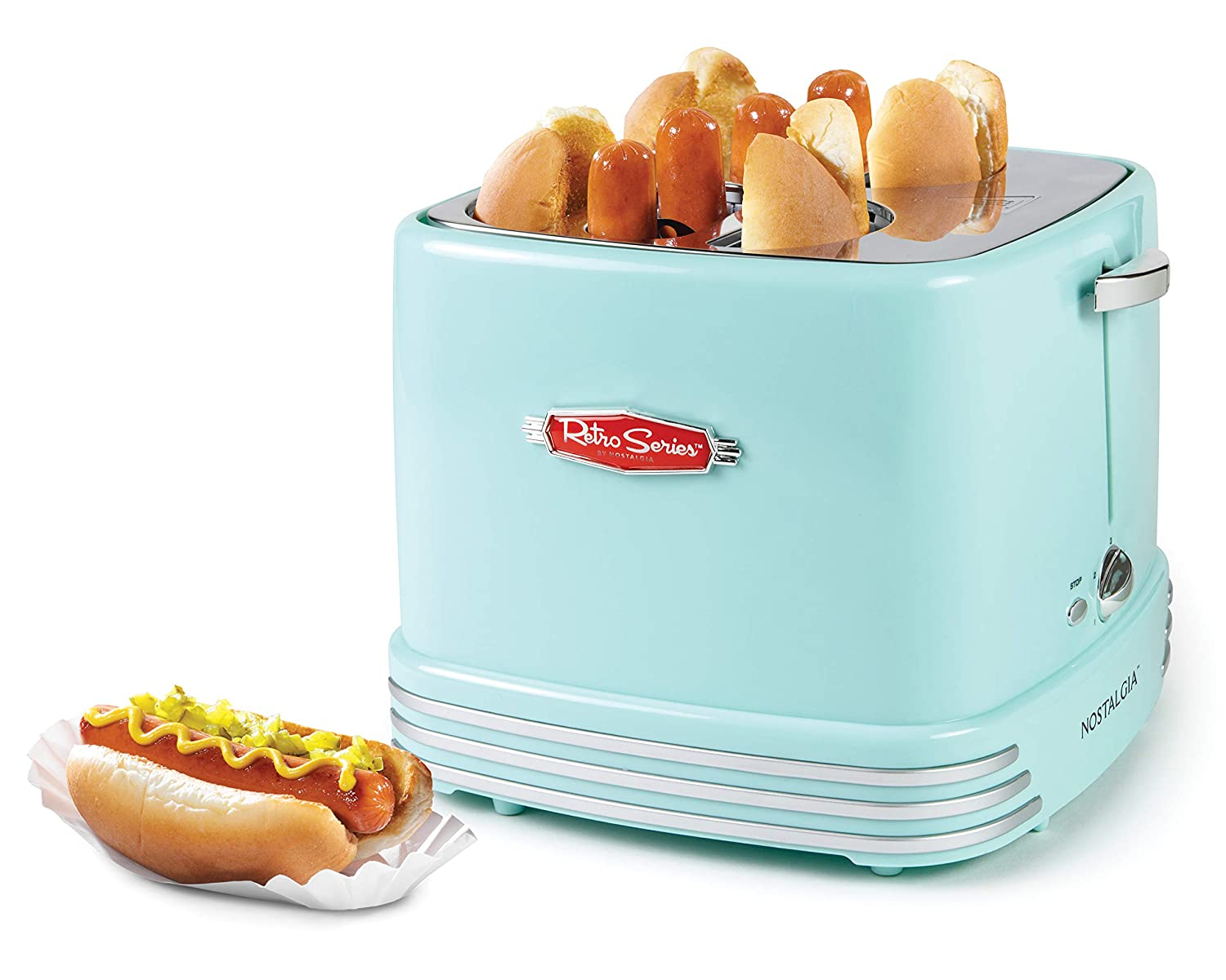 Nostalgia Hot Dog Toaster""