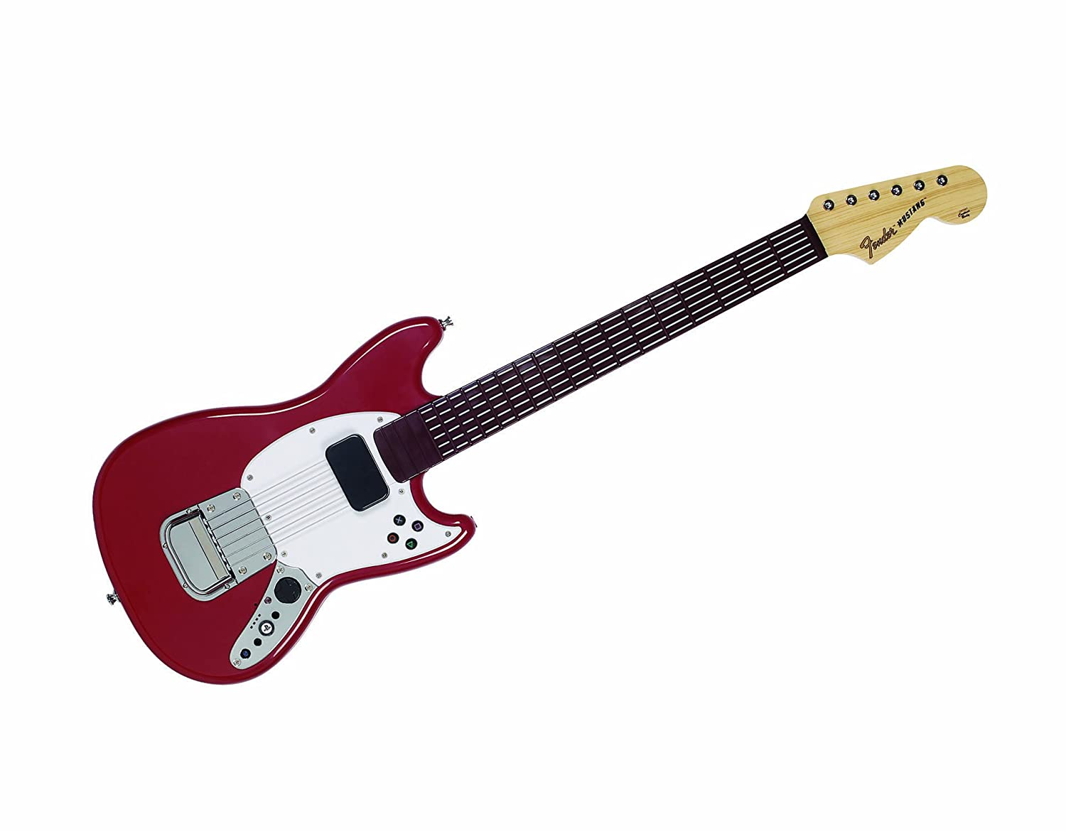 Mad Catz Rock Band 3 Wireless Fender Mustang PRO-Guitar Controller for PlayStation 3: Amazon.es: Videojuegos