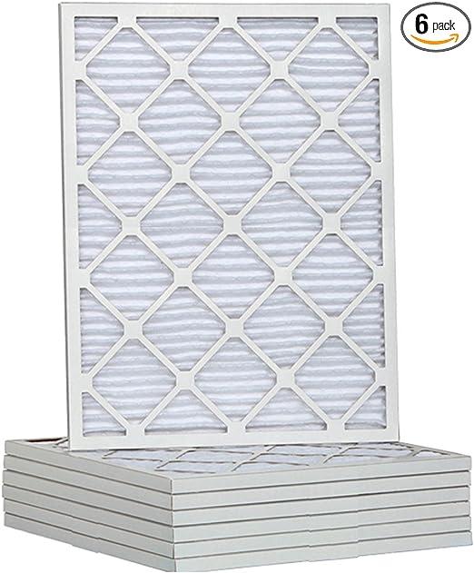 6 Pack Tier1 12x24x1 Ultimate Allergen Merv 13 Replacement Furnace Air Filter