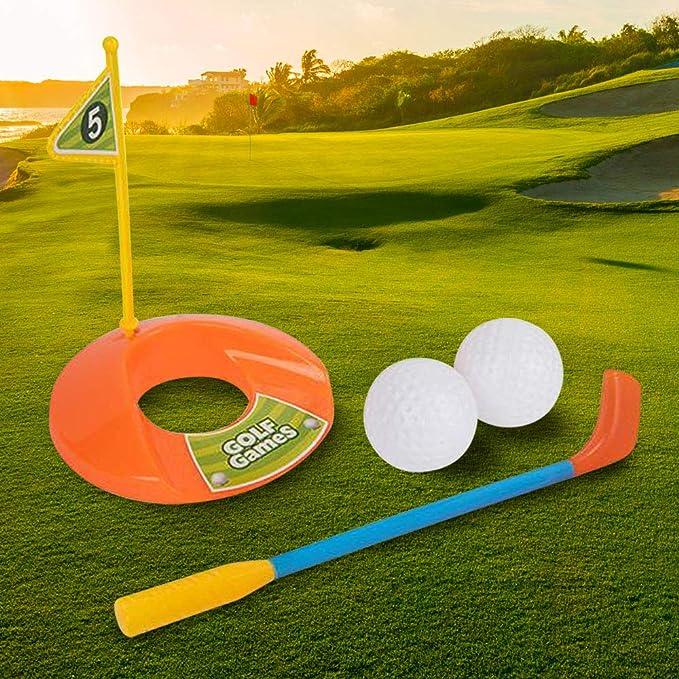 Amazon.com: Gamie Mini juego de mesa de golf (5 piezas ...